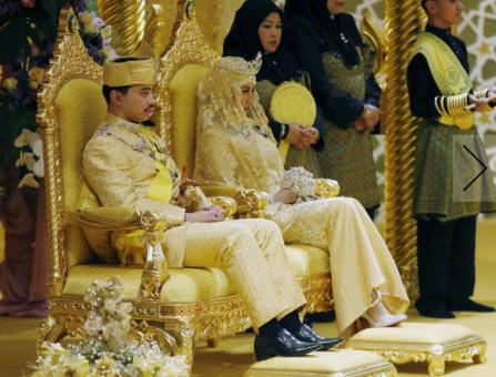 Il matrimonio del figlio del sultano del Brunei  una favola da mille e una  notte 8c1035280bc