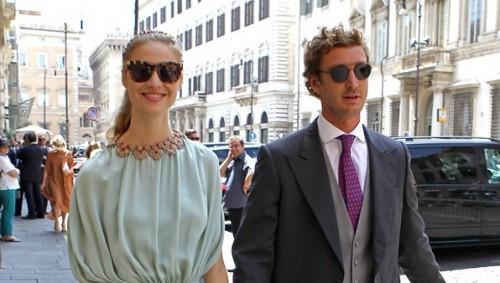 Beatrice Borromeo e Pierre Casiraghi 28b47c62395