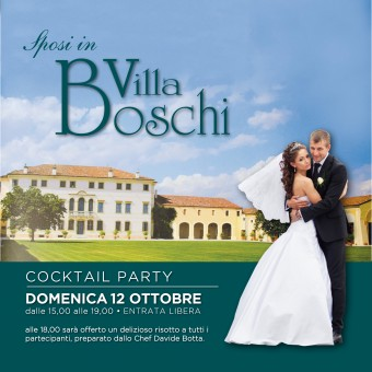 Villa Boschi presenta Cocktail Party