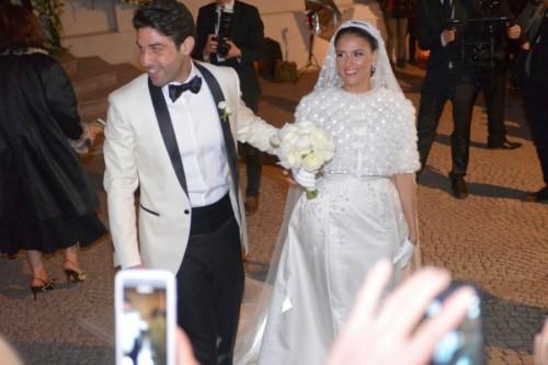 8b0bee812e97 All insegna della raffinatezza si è celebrato sabato sera il matrimonio fra  Bsharat Maryam Hani Kamal e Ibrahim Elias Salloum.